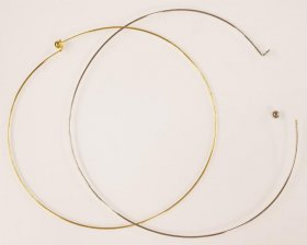 1N 140mm NECKRING Gold Plate
