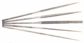 3mm Pointed Needle File Made in Switzerland