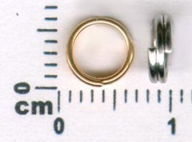 5/18D 5MM DOUBLE JUMPRING, PRICE PER 100 PIECES