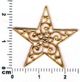 825A FILIGREE STAR