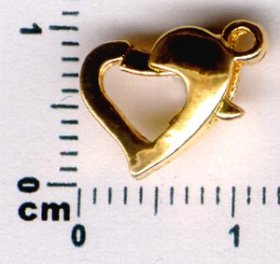 48/1 HEART CLASP