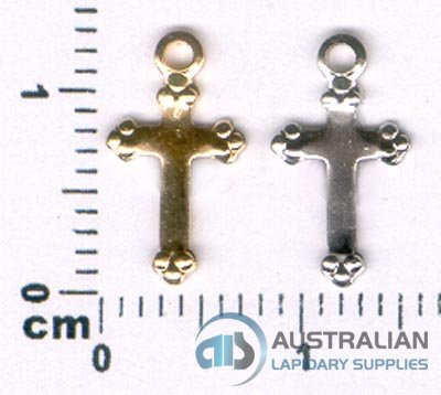 168P SMALL CROSS CHARM PENDANT