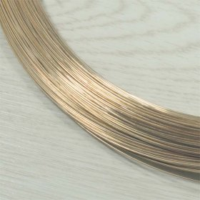 0.71mm 1mt 9ct 9kt Gold Filled or Rolled Gold Wire