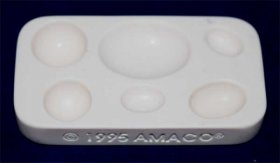 Amaco Push Mould for Resin or Polymer Clays