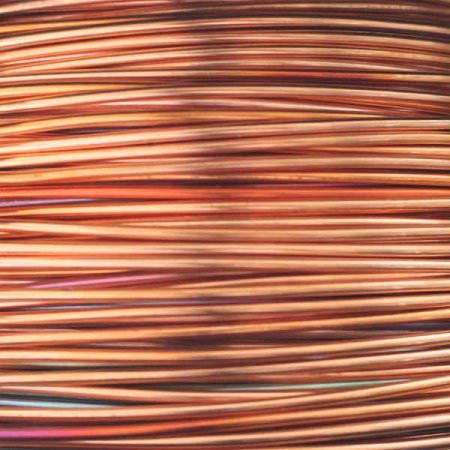 1.25mm 16G AWG or 18G SWG SOLID COPPER WIRE in 10 METRE COILS