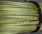 1.25mm 16G AWG or 18G SWG SOLID BRASS WIRE in 10 METRE COILS