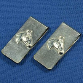 FREE51 HORSE HEAD MONEY CLIP