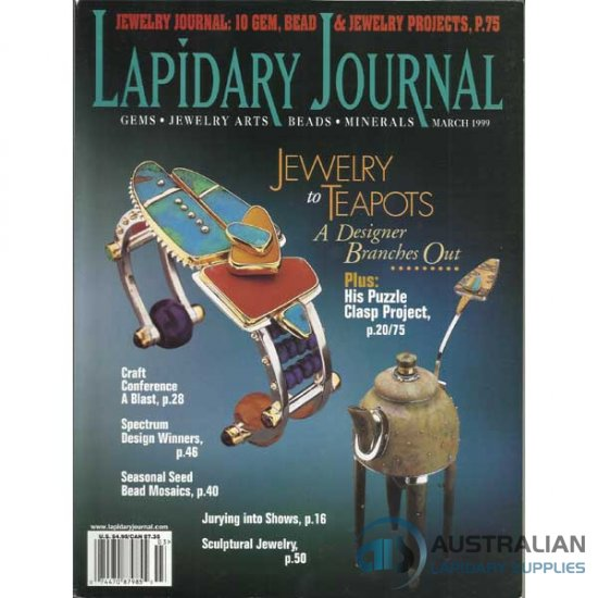Lapidary Journal March 1999