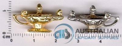 145P ALADDINS LAMP CHARM PENDANT