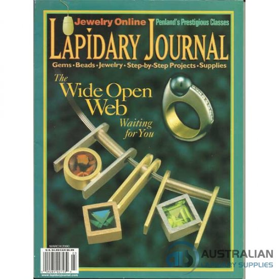 Lapidary Journal March 2000