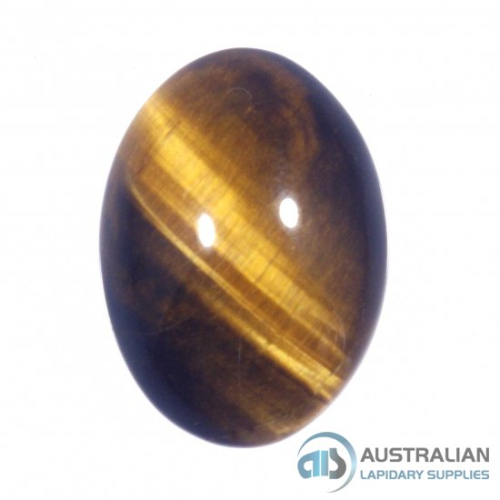 X23 8x6 Oval Cabochon GOLDEN TIGEREYE