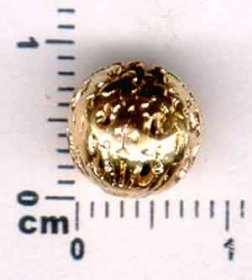 33BE FILIGREE METAL BEAD