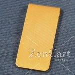 3MC/B Solid Brass Money Clip
