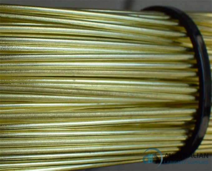 1mm or 18G AWG or 19G SWG SOLID BRASS WIRE in 10 METRE COILS