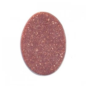 X23 18X13 Oval Flat Top Cabochon BROWN GOLDSTONE
