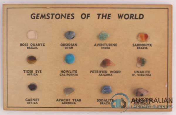 FREE19 12 small Gemstones