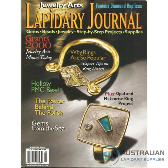Lapidary Journal August 2000