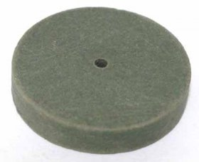 "Cratex Straight Wheel 1"" x 1/4"" Medium"