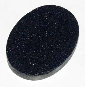 25X18 PREFORM CABACHON BLUE GOLDSTONE