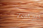 0.56mm 23G AWG or 24G SWG SOLID COPPER WIRE in 10 METRE COILS