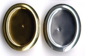 171BR 25x18 Recessed-edge BROOCH