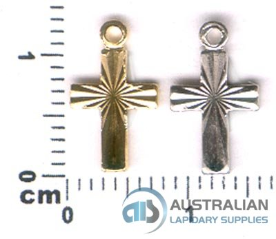 179P SMALL CROSS CHARM PENDANT